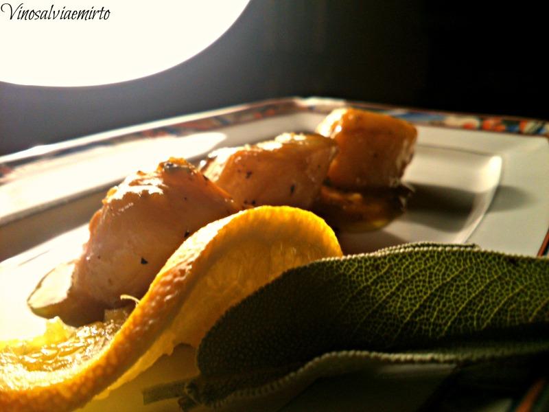 capesante arancia salvia e miele