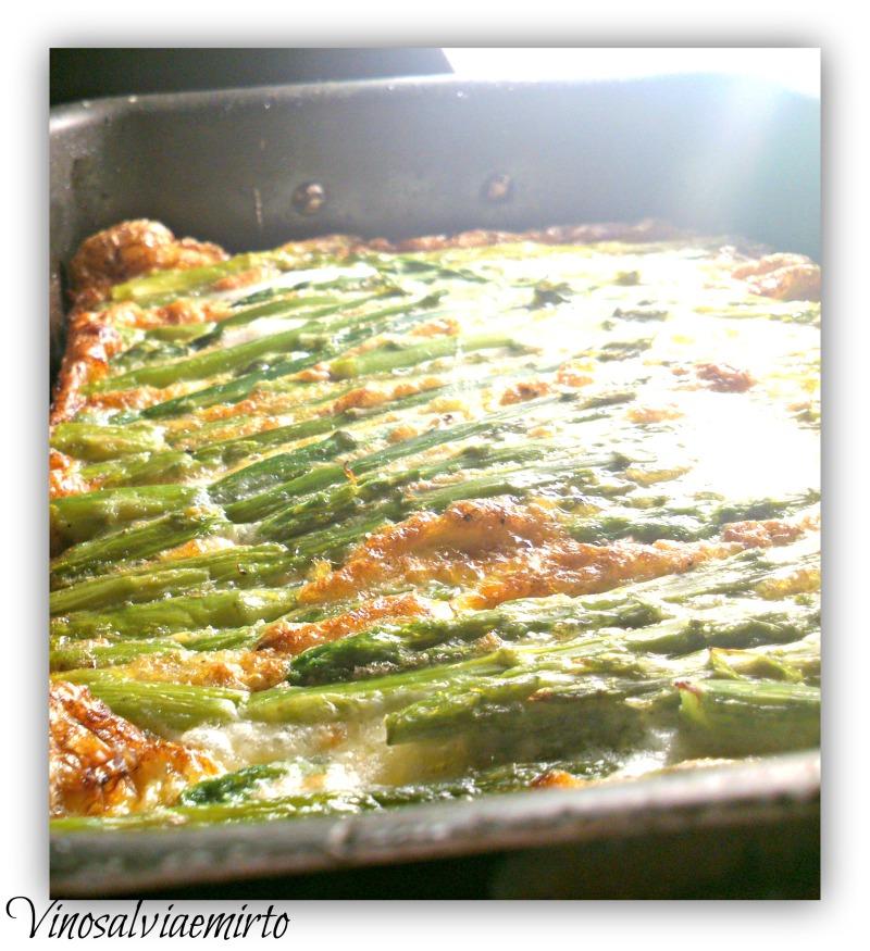 frittata al forno con taleggio e asparagi ok