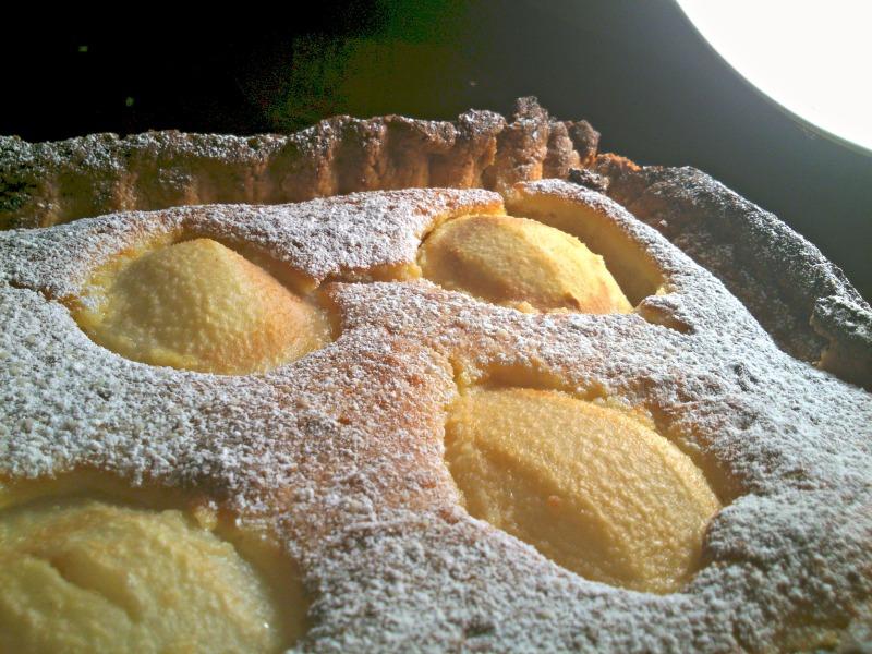 il tempo delle pere! crostata e crema frangipane